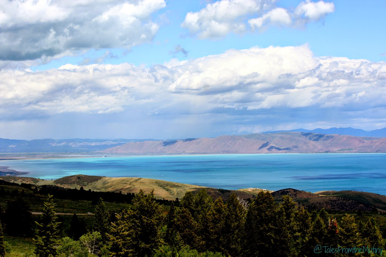 Bear Lake from Logan Canyon Scenic Byway