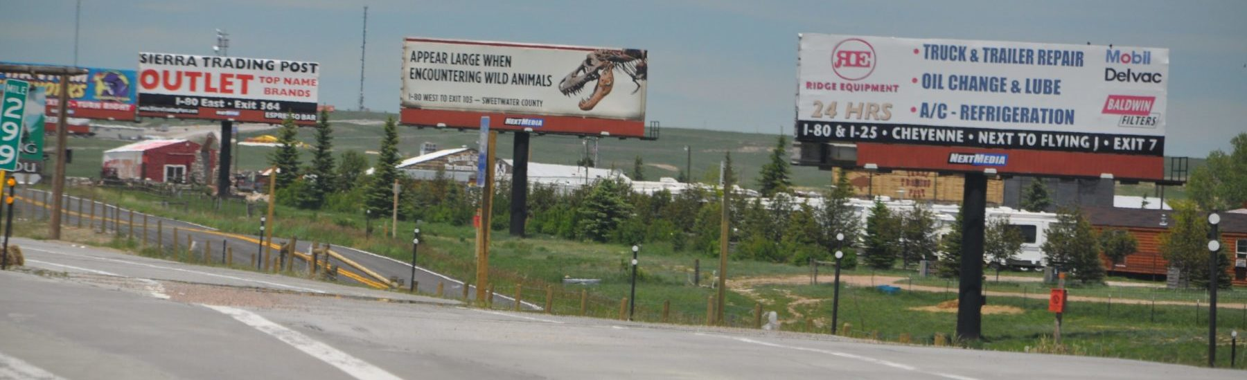 Wyoming billboards