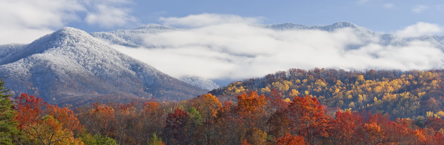 smoky mtn fall and early snow